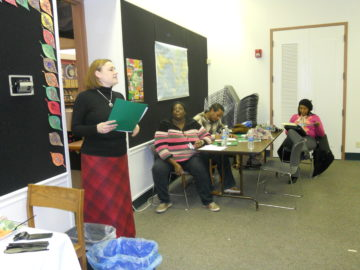 Central Neighborhood Working Group:  Dr. Jessica Kelley-Moore presents to the group