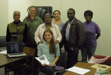 Central Neighborhood Working Group: Neighborhood Working Group members and FreshLink staff together for a picture!