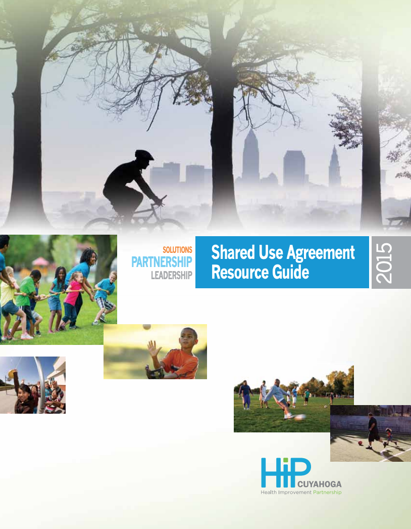 Shared Use Agreement Resource Guide